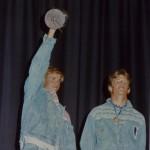 Premier titre de champion d'Europe pour Didier PITER en 1991